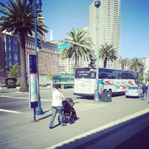 Embarcadero, I am back  (Taken with Instagram)