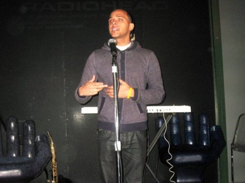 #TbT It's @AkAPoet (Ibrihim Siddiq) Spitting that @OneMicNite #SpokenWord #Poetry #Spit #Verse #OneMicNiteArtist