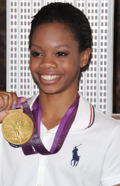 Well this is interesting, Team USA Women's gymnast and gold medalist Gabby Douglas is going to write a memoir at age 16. The book will be called, Grace, Gold, and Glory: My Leap of Faith. Even though she's only 16 she has been through A LOT already and should be an interesting read!