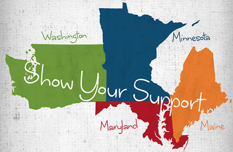 New Campaign 'The Four' Highlights States with Marriage Equality Ballot Measures This November
