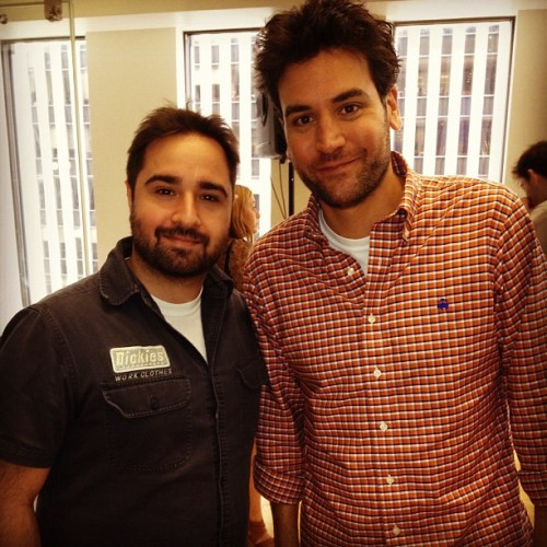 Finally! After years of trying @JoshRadnor visits @SiriusXMHits1! His new movie Liberal Arts is out Friday. See it! #tv #movies (Taken with Instagram)