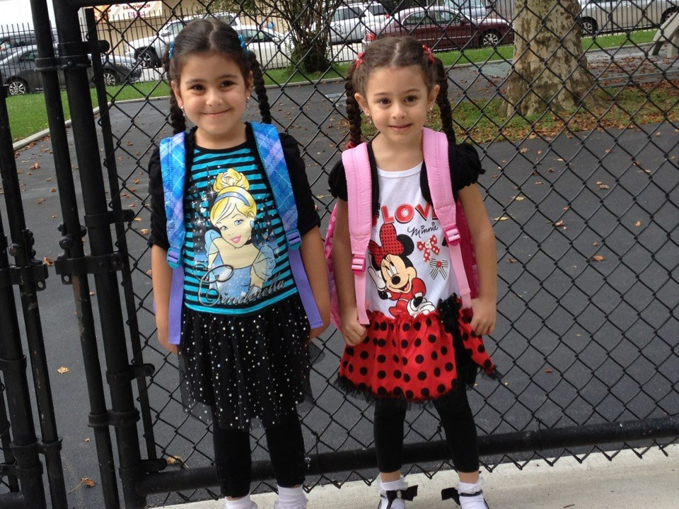 First day of school.  Off the charts cuteness!