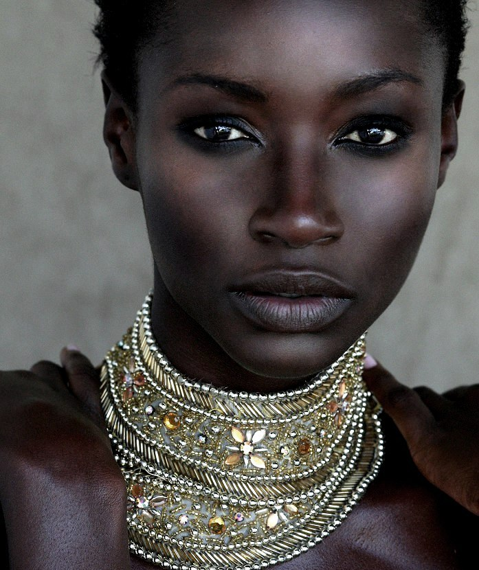 idreamofaworldofcouture:  Kate Menson Face of Africa 2008, she is stunning