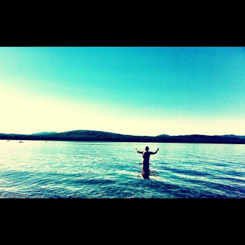Mooselookmeguntic lake, Oquossoc Maine (Taken with Instagram)