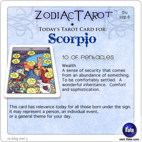 Click on ZodiacTarot! for all of today's zodiac tarot cards.and get a free online I Ching reading here