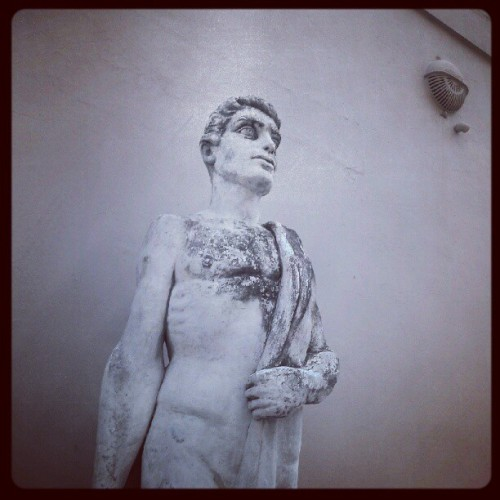 random statue in downtown new orleans (Taken with Instagram)