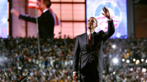 "What to Expect From Obama's DNC Speech [Click to read full article] - Good stuff about Barack Obama - Bad stuff about Mitt Romney - Some true stuff - Some not as true stuff - Stuff about health care - Stuff about Michelle - Just stuff - Shots of old ladies smiling and clapping - Shots of old ladies crying and wiping away tears - Shots of old ladies burning effigies of Paul Ryan - Personal anecdotes of struggle - ""Four more years"" chants - People screaming, shouting, throwing things - People collapsing in the aisles and speaking in tongues Picture courtesy of Boston Globe via ABC News"