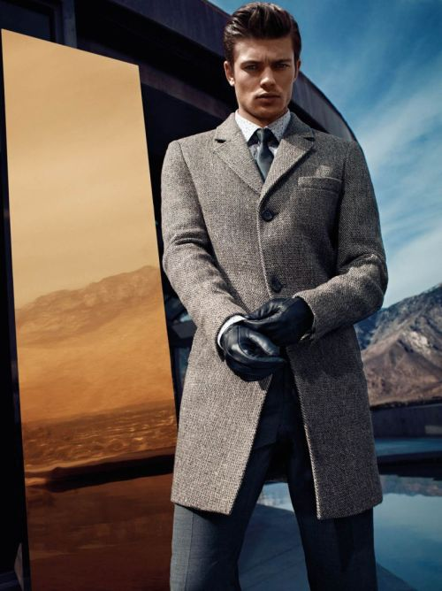 Eugen Bauder for GUESS by Marciano Fall/Winter 2012.
