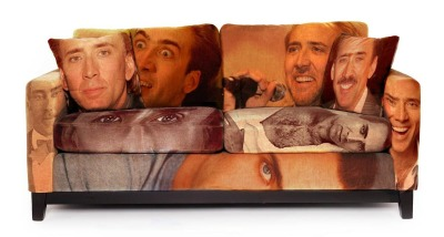 clintisiceman:  Cage Couch  Oh god why.
