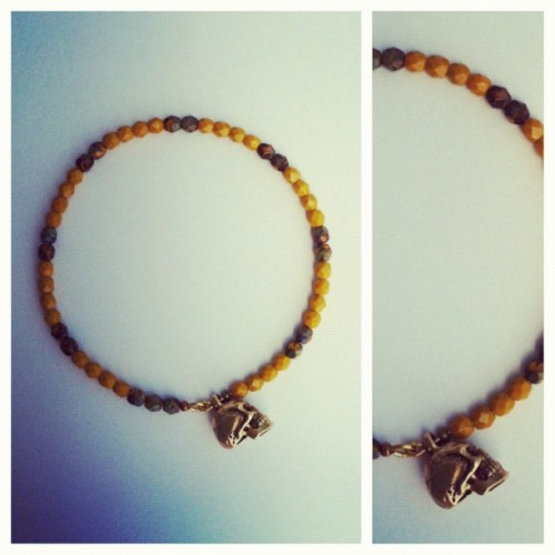#Beleighve #skull #bracelet (Taken with Instagram)