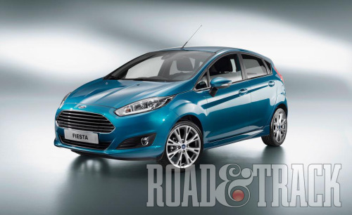 The 2014 Ford Fiesta gets classier styling and EcoBoost 3-cylinder engine. (Source: Road & Track)