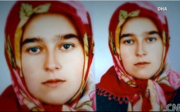 "newsweek:  Nevin Yildirim is sitting in a Turkish jail for shooting her rapist in the penis, beheading him, and leaving his head in the town square. ""I chased him,"" she explained. ""He fell on the ground. He started cussing. I shot his sexual organ this time. He became quiet. I knew he was dead. I then cut his head off."""