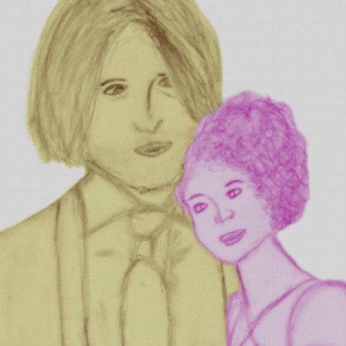 I'm still dying at how ginormous I made Haymitch compared to Effie. Lol #thg  (Taken with Instagram)