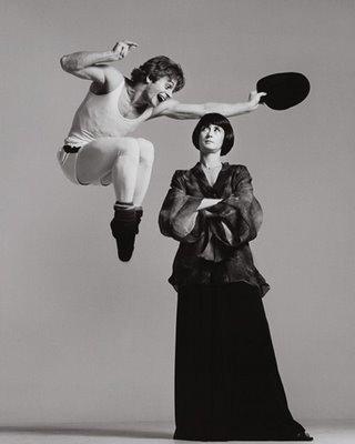 Twyla Tharp and Mikhail Baryshnikov - Richard Avedon
