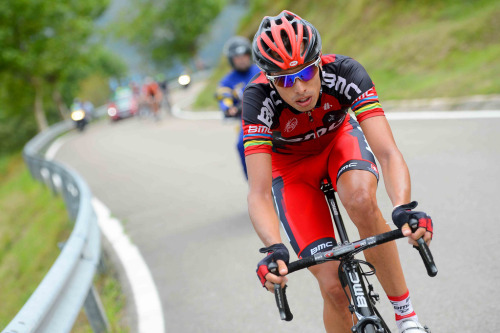 Alessandro Ballan. Stage 17, 2012 Vuelta a España. via BMC Racing Team.