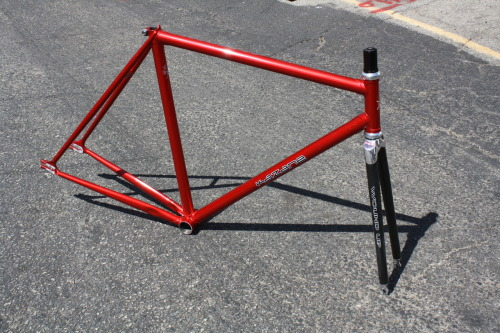 "Anyone interested in my Kazane? 52cm st, 52cm tt 1"" steet tube w/ Wound Up fork and headset, threadless. It's about 6 months old, minor scratches. Great condition. $600"