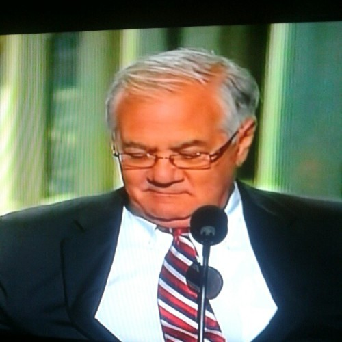 Barney Frank speaking at the #dnc2012. #barneyfrank #p2 #ig #instagram (Taken with Instagram)