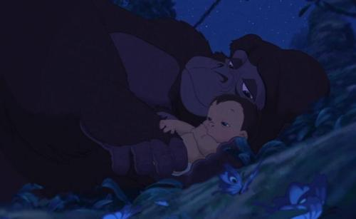"Tarzan, 1999 Tarzan: ""No matter where I go, you will always be my mother."" Karla: ""And you will always be in my heart."""