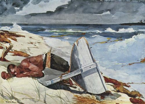 After the Hurricane, Bahamas, Winslow Homer, 1899