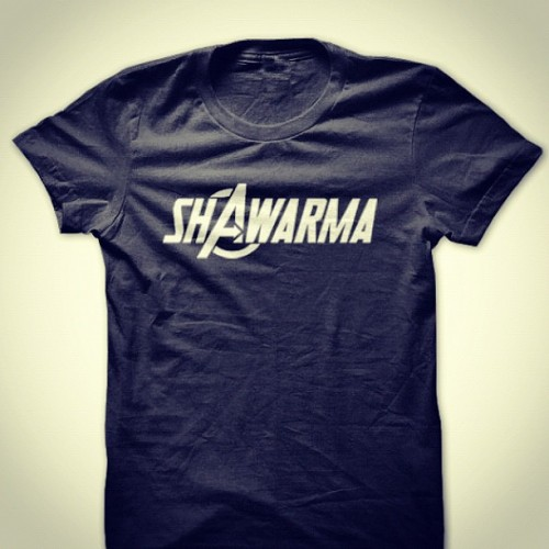 #ShAwarma #Avengers #Nerd #Geek #Fashion #Marvel #Tee #tshirt #lol #funny  (Taken with Instagram)