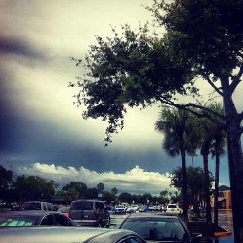 WOW! It finally stop raining in #sfl! :) (Taken with Instagram)