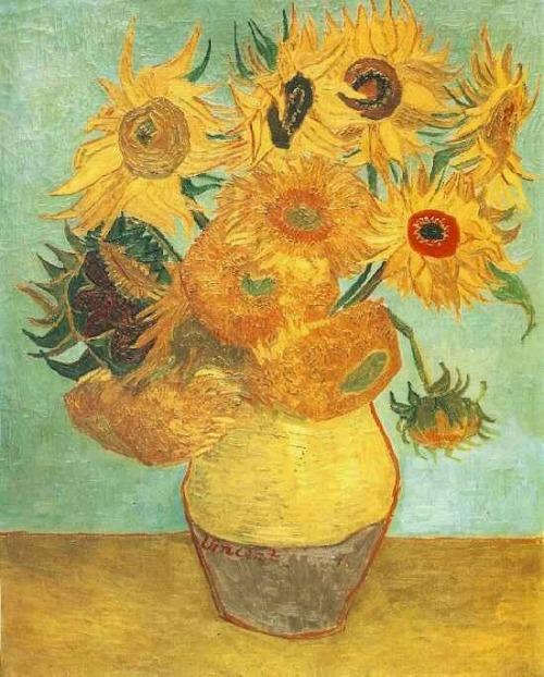 Vase with Twelve Flowers 2 ~ Vincent Van Gogh