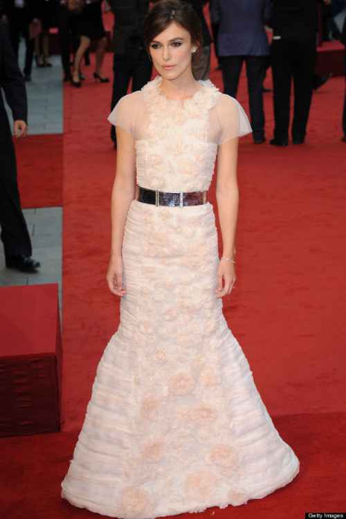 Look of the day: Keira Knightley in Chanel Couture