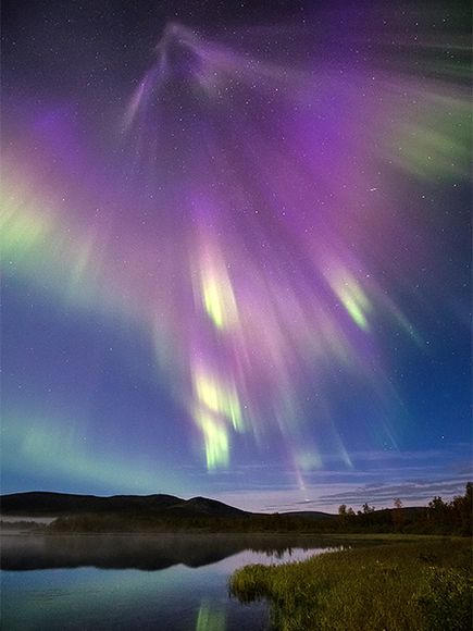 thegrandbetrayal:  Northern Lights in Finland