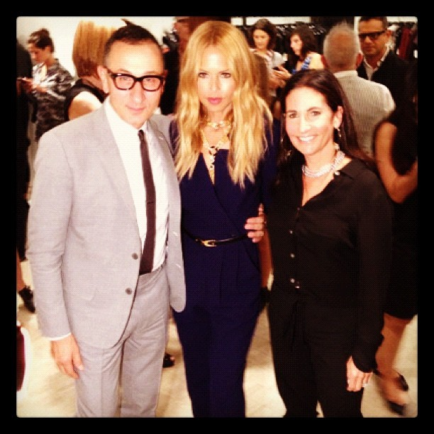 Fab company on #FNO… @jmendel & @bobbibrown! #RZFW (Taken with Instagram)