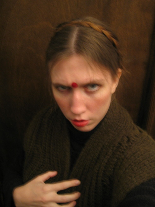 I wanted to be the female Hindu Rasputin.
