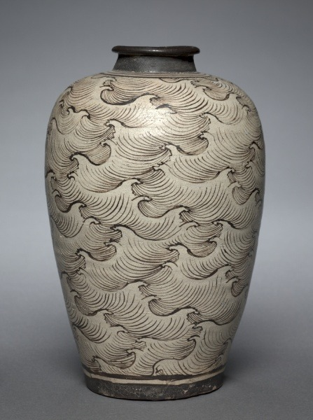 lich-tung:  omgthatartifact:  Vase with Waves China (Southern Song or Yuan Dynasty) The Cleveland Museum of Art   // ]]]]]]]]]]]]]]]]]]> // ]]]]]]]]]]]]]]]]> // ]]]]]]]]]]]]]]> // ]]]]]]]]]]]]> // ]]]]]]]]]]> // ]]]]]]]]> // ]]]]]]> // ]]]]>]]>