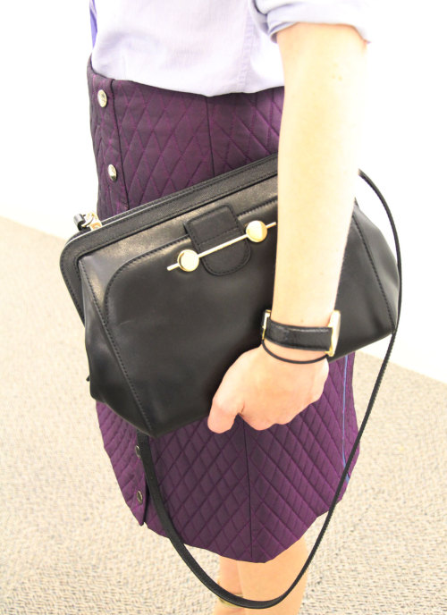 NYFW style: A closeup of Jane Keltner de Valle's Jason Wu Daphne purse