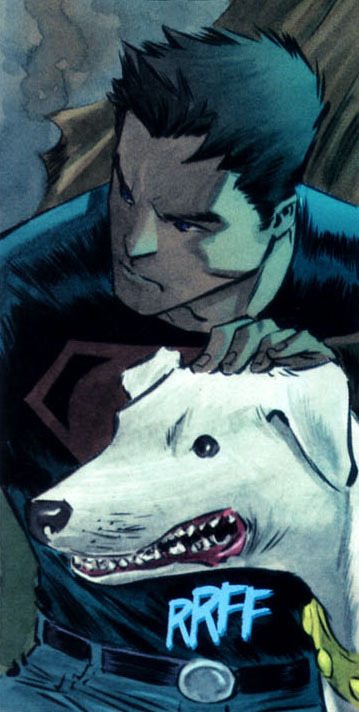 more-like-a-justice-league:  A Superboy and his Dog  Loved this run.