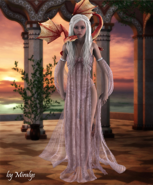 miralys73:  The Mother of Dragons