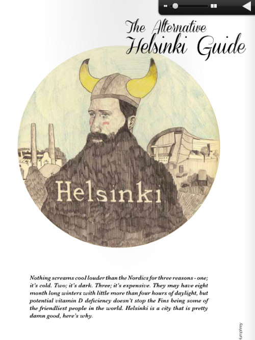 My Helsinki illustration I did is now here! http://issuu.com/houndmagazine/docs/hound-sep-2012-web-2/1