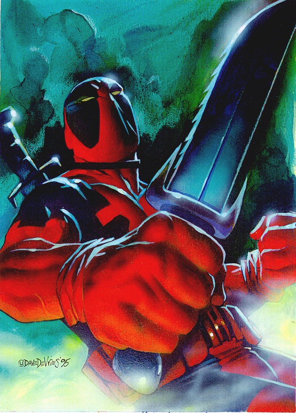 Deadpool by Dave DeVries