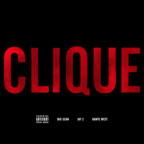 "Kanye West, Jay-Z & Big Sean — Clique   Aaaand here it is! The latest from G.O.O.D. Music, Yeezy recruits Hov and Big Sean on this Hit-Boy produced track. I hope everyone takes note of Yeezy's references to Kim's ""home movie."" This song will find a home on the upcoming Cruel Summer album coming September 18th.    > download"
