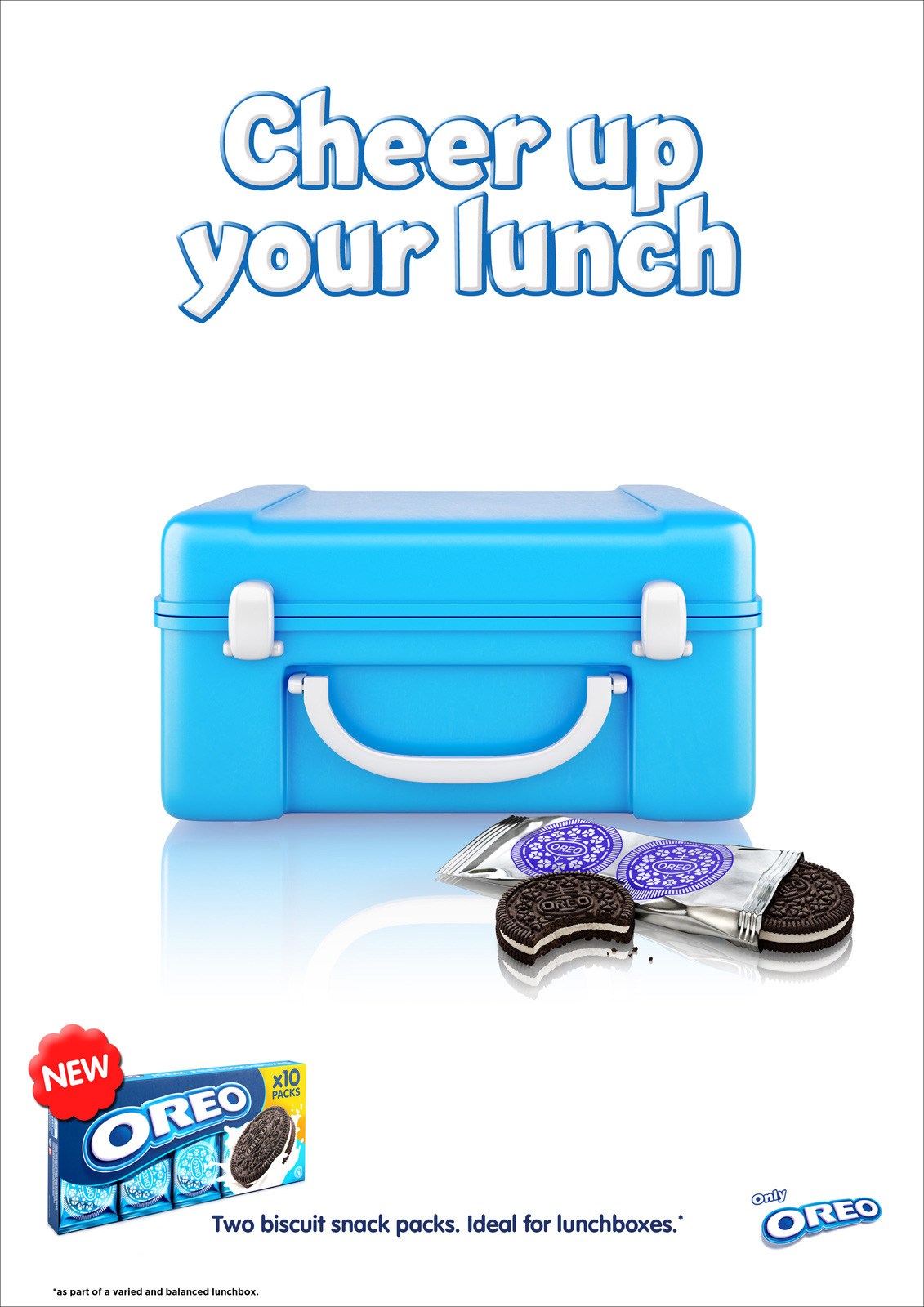 yoannmichaux:  Cheer up your lunchbox, Oreo Ad  who doesn't love Oreos?