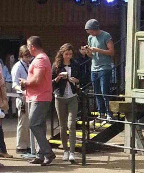 Lou and El at the Harry Potter tour today! Outfit to come! Xx