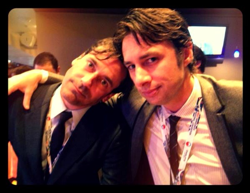 @zachbraff: Here's one for the ladies… #DNC http://t.co/yoFaeBAa    - tweet, Jon Hamm at the 2012 Democratic National Convention tonight :D