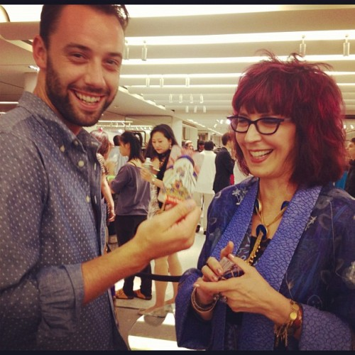 It's all in the cards. Let @amyzerner read them! #fno #cn  (Taken with Instagram at Bergdorf Goodman)