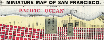 Map: McDonald's Miniature Map Of San Francisco (1879) originally posted to the BIG Map Blog.