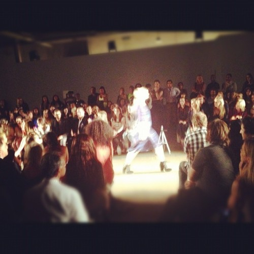 The runway at @IvanaHelsinki (Taken with Instagram)