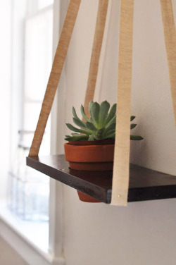 littlecraziness:  (via Poppytalk: DIY Hanging Planter)  So Cute! :)