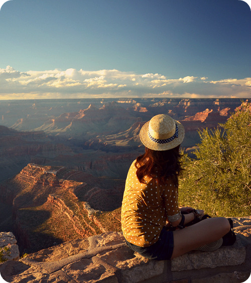 myrollingstar:  sunset at Mather Point, Grand Canyon!