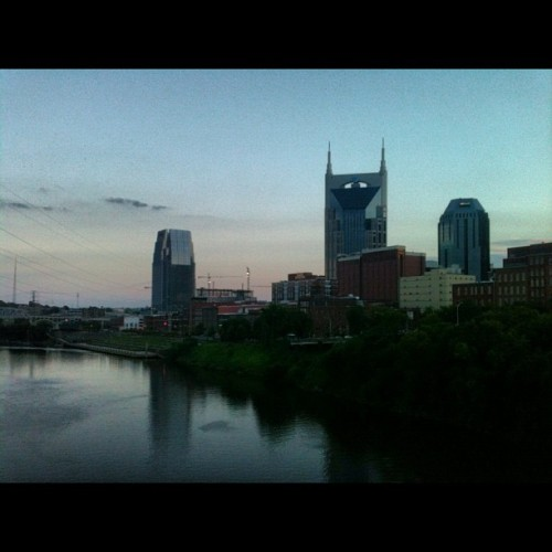 Downtown #nashville for a free concert. #nofilter (Taken with Instagram at Public Square Park)