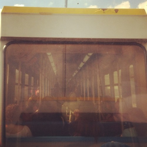 I ride inside a box #lrt #morninghabit  (Taken with Instagram)