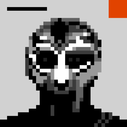 rappcats:  8-bit version of Doom + Madlib's Madvillainy sleeve, by Chris Hund
