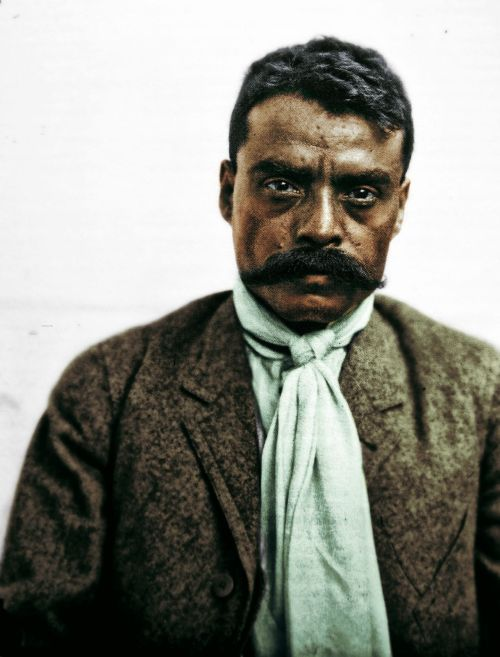 spanishyeah:  gilbertovaz:  Emiliano Zapata Salazar.  Emiliano Zapata Salazar was a leading figure in the Mexican Revolution, which broke out in 1910, and which was initially directed against the president Porfirio Díaz. He formed and commanded an important revolutionary force, the Liberation Army of the South, during the Mexican Revolution. Followers of Zapata were known as Zapatistas.