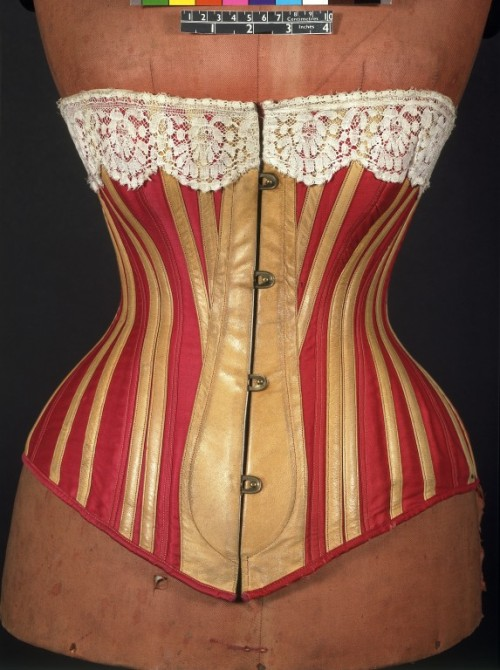 omgthatdress:  Corset 1883 The Victoria & Albert Museum